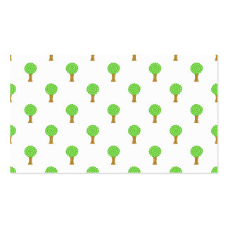 Pattern of Trees. Business Card