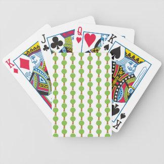 Pattern of Trees. Card Decks