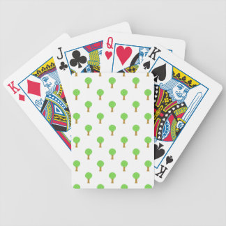 Pattern of Trees. Deck Of Cards