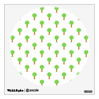 Pattern of Trees. Wall Decal