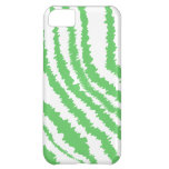 Pattern of Wavy Green Stripes. iPhone 5C Cases