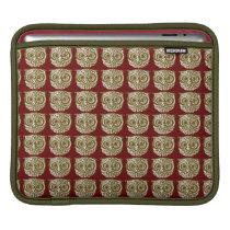 pattern owl iPad sleeve