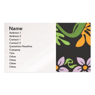 pattern_paradise_found_jilbert.ai plantilla de tarjeta de negocio
