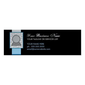 pattern pillow business card templates