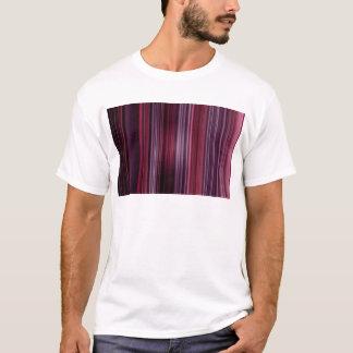 Pattern Pink Purple Stripe T-Shirt