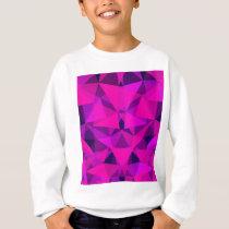 pattern pink sweatshirt