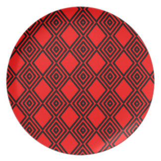 Pattern Plates. Party Plate