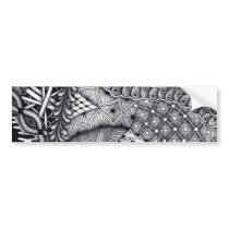 pattern play bumper sticker