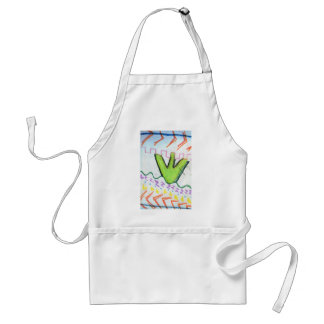 Pattern Poetry Adult Apron