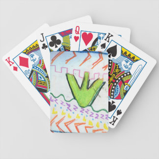 Pattern Poetry Poker Cards