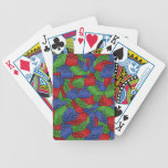 Pattern - Primary Colors Building Blocks Bicycle Playing Cards