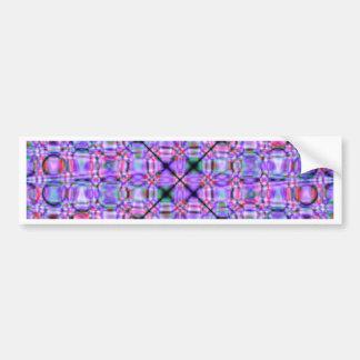 pattern purple no. 3 designed by Tutti Bumper Sticker