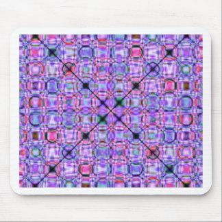 pattern purple no. 3 designed by Tutti Mouse Pad