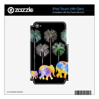 Pattern Q Skins For iPod Touch 4G