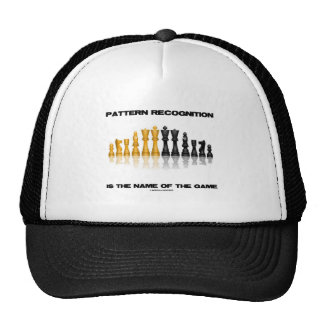 Pattern Recognition Is The Name Of The Game Chess Trucker Hat