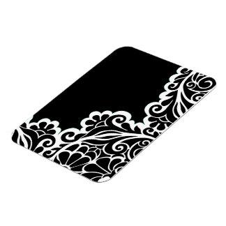 pattern rectangular photo magnet