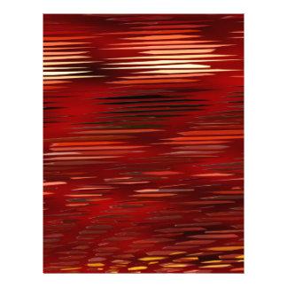 pattern red 1 created by Christine Bässler Letterhead