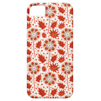 Pattern_Red_Flower 01 iPhone 5 Case