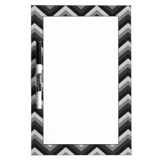 Pattern Retro Zig Zag Chevron Dry-Erase Whiteboards