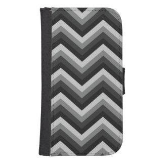 Pattern Retro Zig Zag Chevron Galaxy S4 Wallet