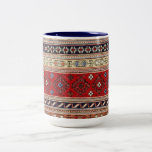Pattern Rug Turkish Peace Love Art Party Destiny Two-Tone Coffee Mug
