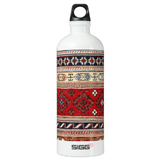 Pattern Rug Turkish Peace Love Art Party Destiny Water Bottle