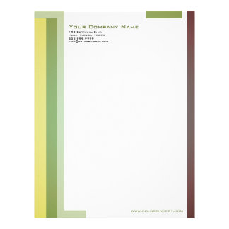 Pattern Rules Letterhead