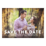 PATTERN | SAVE THE DATE ANNOUNCEMENT