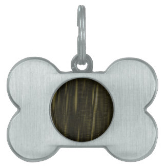 pattern serie waves 1 green pet tags