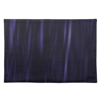 pattern serie waves 1 purple placemat