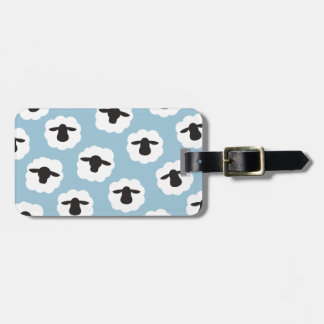 Pattern Sheep { Any Color } Luggage Tags