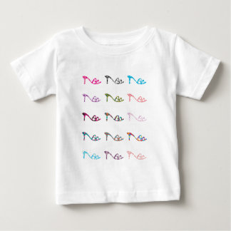 Pattern Shoes Baby T-Shirt
