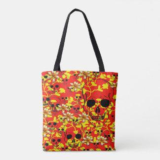 Pattern Skull Design Tote Bag