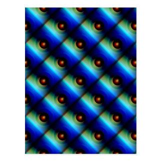 Pattern small balls dreated by Christine Bässler Postcard