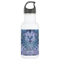 Pattern Stainless Steel Water Bottle