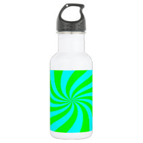 pattern stainless steel water bottle
