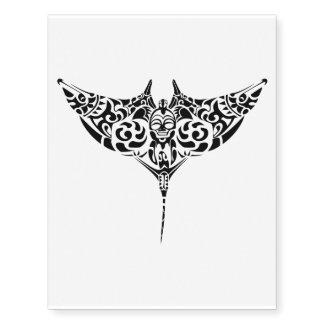 pattern stingray temporary tattoo