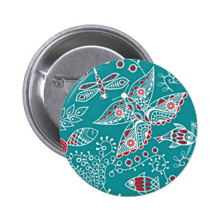 Pattern Subject 2 Inch Round Button