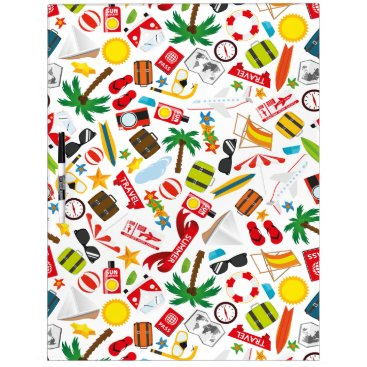 Pattern Summer holiday travel south sea Dry-Erase Board