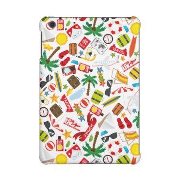 Beach Themed Pattern Summer holiday travel south sea iPad Mini Cases