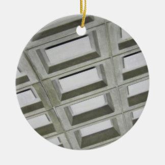 Pattern tile ceiling ceramic ornament