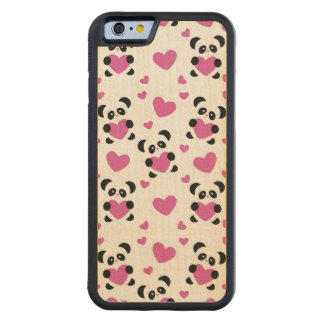 Pattern to the Day of Love Carved Maple iPhone 6 Bumper Case