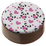 Pattern to the Day of Love Chocolate Dipped Oreo