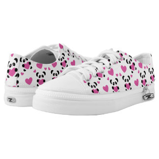 Pattern to the Day of Love Low-Top Sneakers
