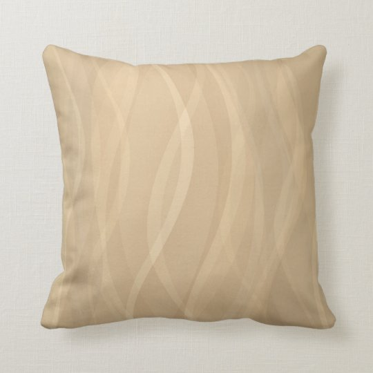 Pattern toned mocca coffee pillow