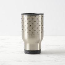PATTERN TRAVEL MUG mugs