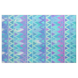 Pattern Tribal Aztec Chevron Light Pastel Fabric