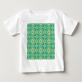 Pattern turquoise green created by Tutti Baby T-Shirt