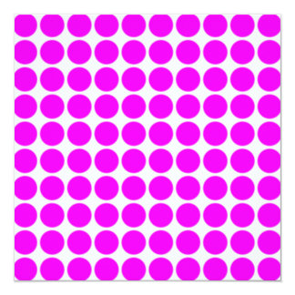 Pattern: White Background with Pink Circles Card