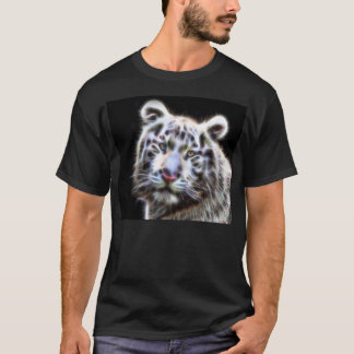 Pattern White Tiger Shirt